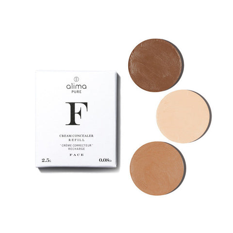 CREAM CONCEALER REFILLS <br> Refill pans for Cream Concealer compacts, 2.5g <br> [ 10 shades ]
