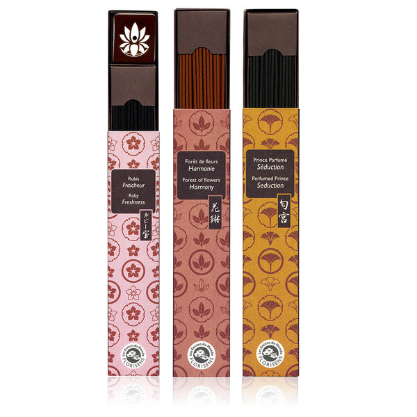 KARIN <br> Exceptional Japanese incense ( 6 varieties )