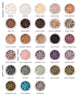 MINERAL EYE SHADOW<br>Highly pigmented for a long lasting and durable finish. Vast shade range available in pure loose powder, which are very gentle on the eyelids<br>LILY LOLO