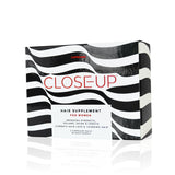 CLOSE-UP HAIR SUPPLEMENT - FEMALE <br> Promote hair growth, volume, strength and shine, and combat hair loss
