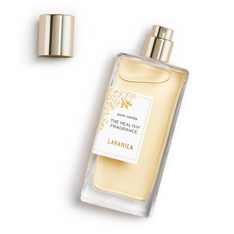 THE HEALTHY FRAGRANCE <br> Pure Vanilla