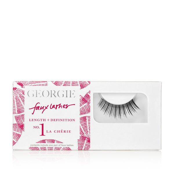 GEORGIE FAUX LASHES No.1 <br> 'La Chérie'. Length plus Definition
