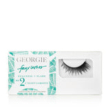 GEORGIE FAUX LASHES No.2 <br> 'L'Avant Gardiste'. Fullness plus Flare