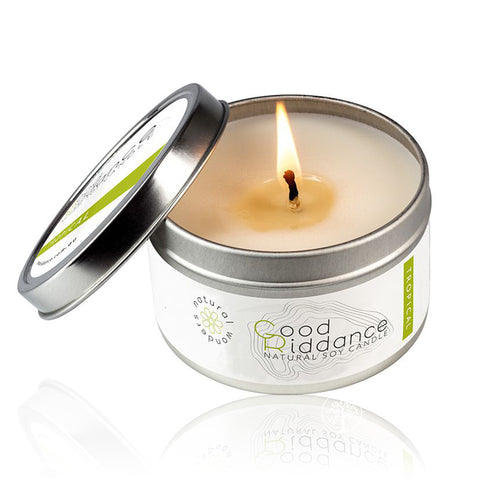 GOOD RIDDANCE TROPICAL <br> Soy Candle