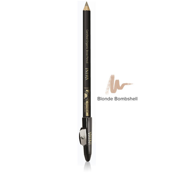 BROW PENCIL <br> Certified Organic. Perfectly defined brows, naturally <br> [ 2 shades ]