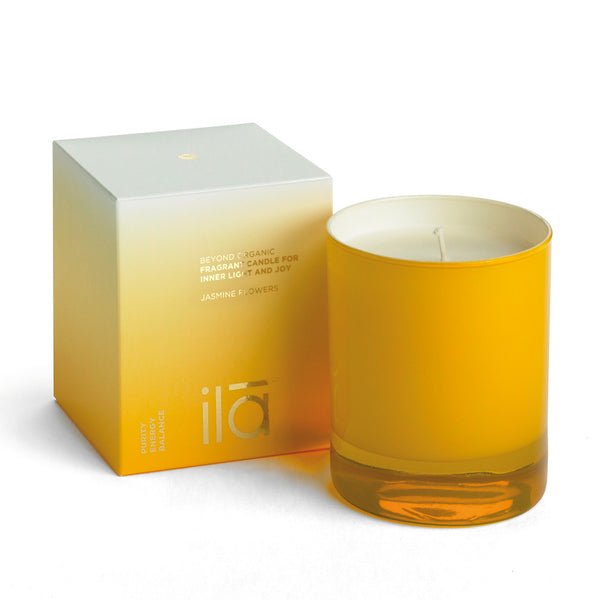 FRAGRANT CANDLE FOR INNER LIGHT AND JOY <br> Jasmine Flowers 50hrs