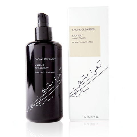 FACIAL CLEANSER <br> Wash away impurities without stripping your skin of its natural oils, 100ml