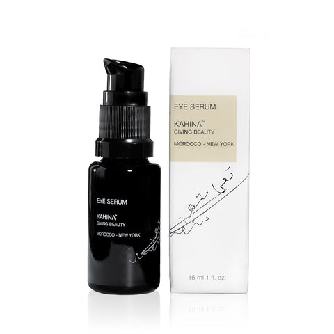 EYE SERUM <br> Rich in peptides and antioxidants for fine lines, wrinkles, puffiness and dark circles, 15ml