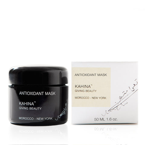 ANTIOXIDANT MASK <br> Argan oil and rhassoul clay from Morocco with pomegranate and acai, 50ml