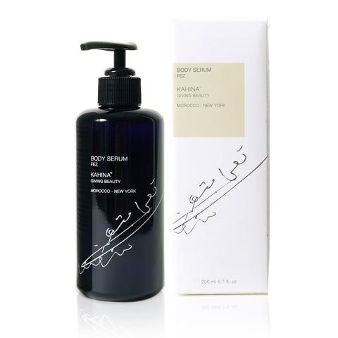 BODY SERUM FEZ <br> Mysterious, sensual and exotic moisturising body oil rich in Vitamin E <br> [ 2 sizes ]