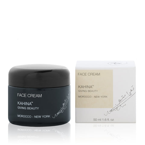 FACE CREAM <br> Two of nature's most potent anti-ageing ingredients, Argan oil and Resveratrol, 50g