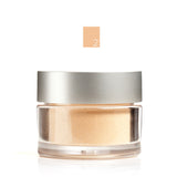 MINERAL FOUNDATION <br> Lightweight powder with buildable, long lasting, light reflecting coverage. 8.5g