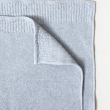 RE.LANA TOWEL, BLUE GREY <br> Made with upcycled cotton