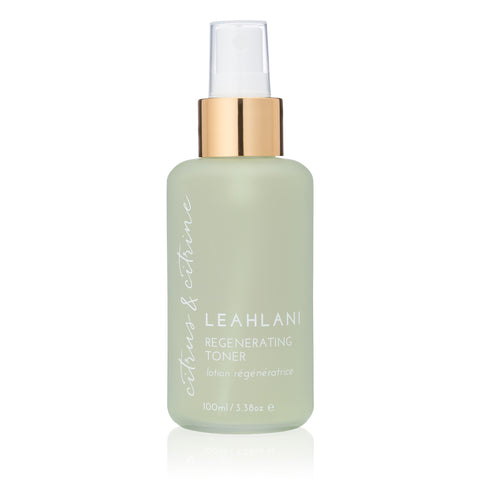 CITRUS + CITRINE ~ REGENERATING TONER <br> Heal, regenerate and brighten skin, 100ml <br> Mature & Oily skin