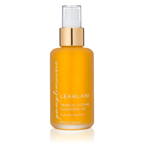 PAMPLEMOUSSE <br> TROPICAL ENZYME CLEANSING OIL <br> Brightening Cleanser for all skin types, 100ml