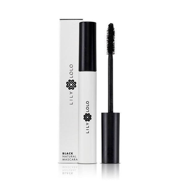 NATURAL MASCARA <br> Rich matte black