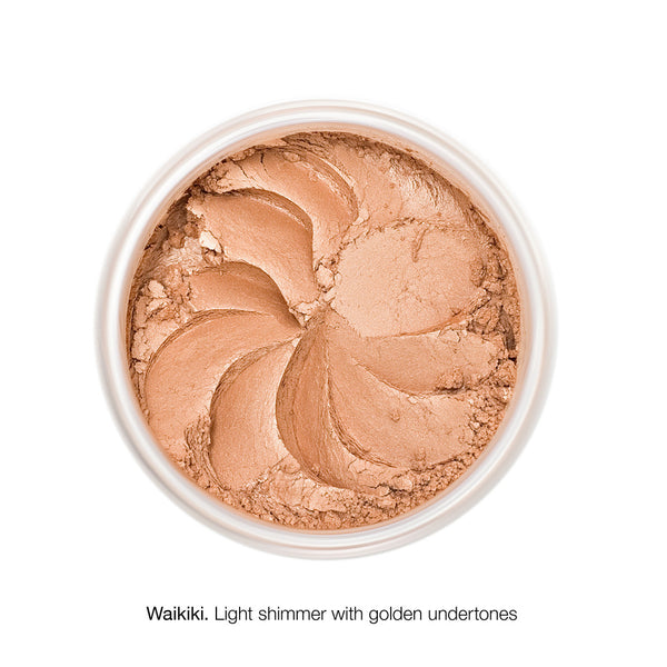 MINERAL BRONZER <br> Finely milled, gentle on the skin