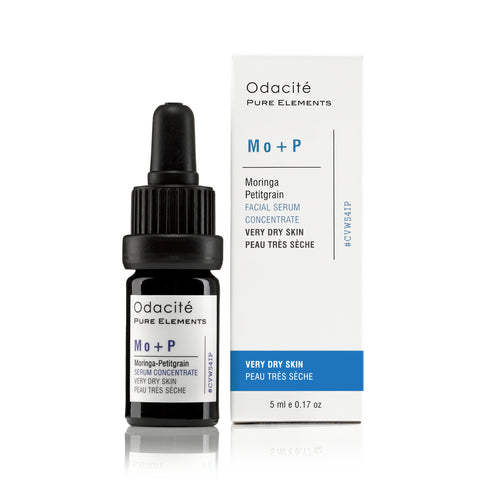 Mo+P : VERY DRY SKIN <br> Moringa Petitgrain Serum Concentrate, 5ml