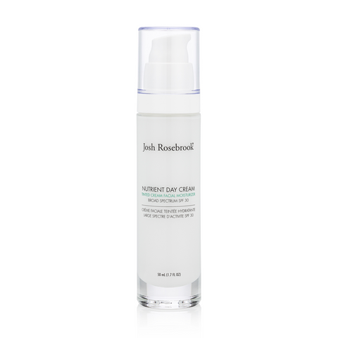 NUTRIENT DAY CREAM TINTED SPF 30 - AIRLESS PUMP <br> With Non-Nano Zinc Oxide <br> [ 2 sizes ]