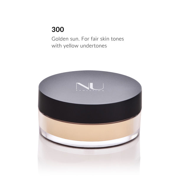 LOOSE  POWDER FOUNDATION <br> Buildable Medium to Full Coverage <br> [ 4 shades ]