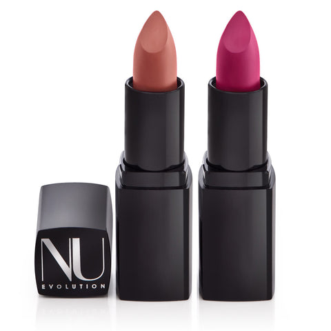 LIPSTICK <br> 100% natural. With luscious hydrators to condition your lips <br> [ 8 shades ]