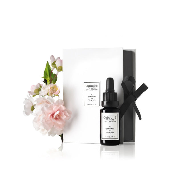 A SPRING IN TOKYO <br>Purifying serum for blemish prone skin, 15ml<br> • Private Collection •