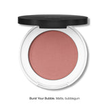 PRESSED BLUSH <br> Rich in moisturising jojoba oil and anti-ageing sea holly extract