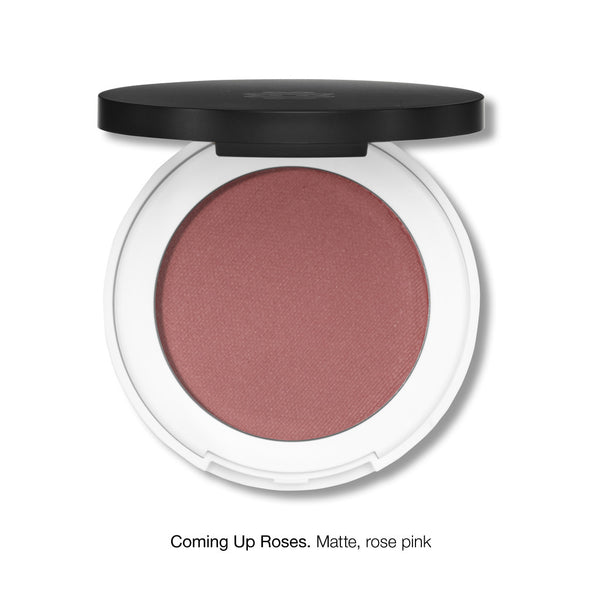 PRESSED BLUSH <br> Rich in moisturising jojoba oil and anti-ageing sea holly extract <br> [ 6 shades ]