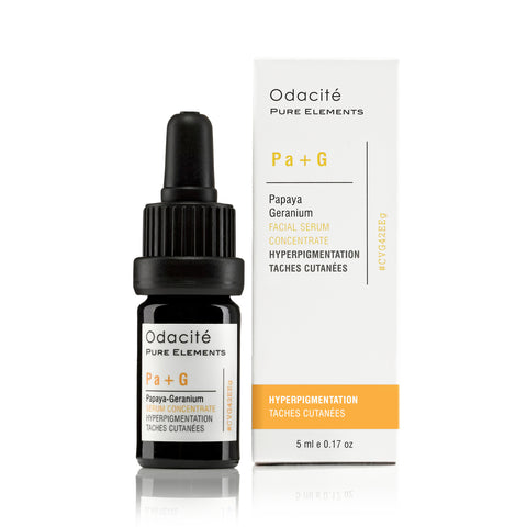 Pa+G ~ HYPERPIGMENTATION <br> Papaya Geranium Serum Concentrate, 5ml