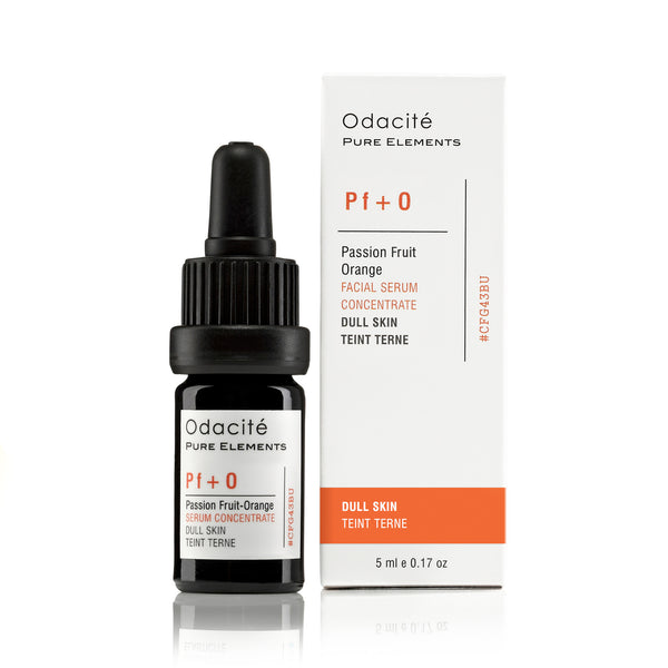 Pf+O | DULL SKIN <br> Passionfruit Orange Serum Concentrate <br> Devitalised Skin series, 5ml