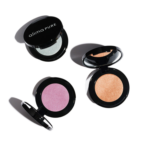 PRESSED EYESHADOW <br> Creamy powder texture in a sleek refillable compact, 2.5g <br> [ 10 shades ]