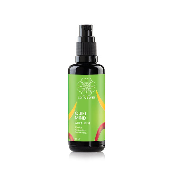 QUIET MIND MIST <br> Flower essences + essential oils, infused in purified water, 50ml