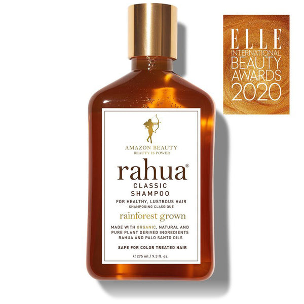 RAHUA CLASSIC SHAMPOO <br> Fortifies weak, damaged strands while nourishing hair follicles <br> [ 2 sizes ]