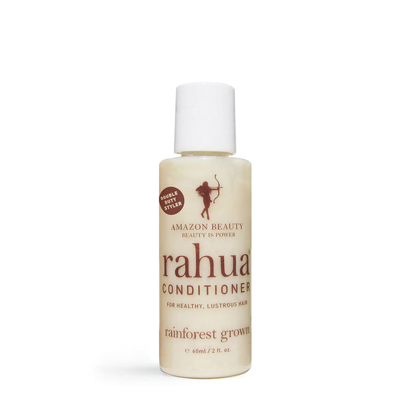 RAHUA CONDITIONER <br> 100% natural, organic conditioner protects to create manageable, soft hair