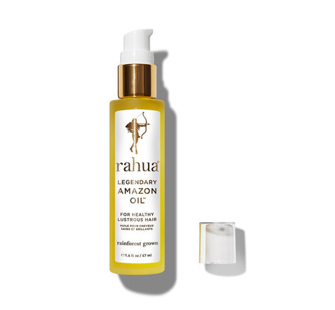 RAHUA LEGENDARY AMAZON OIL <br> For lustrous healthy hair, 47ml