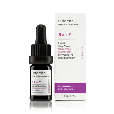 Ro+Y : DEEP WRINKLES <br> Rosehip Ylang Ylang Serum Concentrate, 5ml