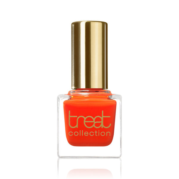 BEST FRIENDS FOREVER <br> Nail Polish ( Semi-transparent popping orange )