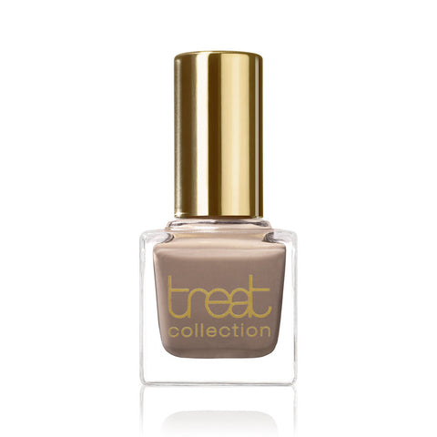 DELICIOUS <br> Nail Polish ( Sheer greyish brown with a semi-transparent finish )