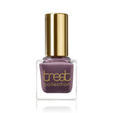 LIKE NEVER BEFORE <br> Nail Polish ( Greyish lavender with brown undertone  )