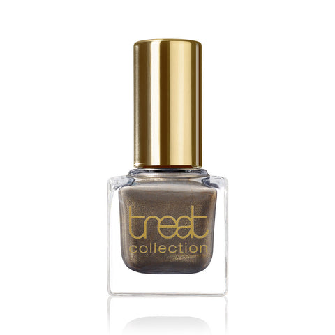MUST HAVE <br> Nail Polish ( Dark, greyish brown colour with subtle gold shimmer )