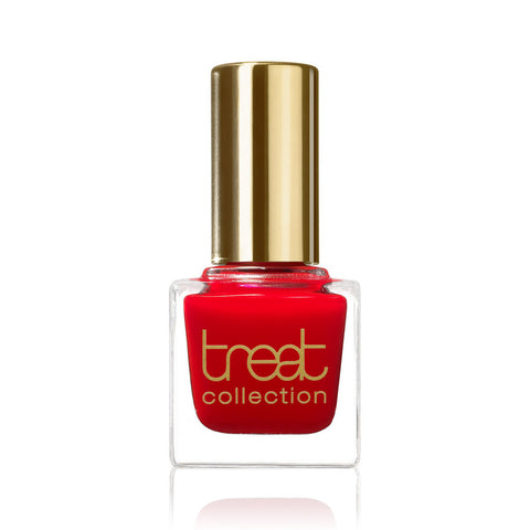 RASPBERRY SORBET <br> Nail Polish ( Bright, raspberry red )