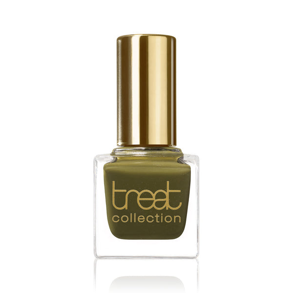 STREET CHIC <br> Nail Polish ( Semi-transparent khaki green )