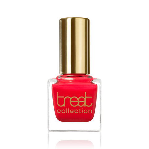 SUMMERTIME <br> Nail Polish ( Popping hot red with a hint of orange )