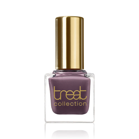 THE GIRLS <br> Nail Polish ( Elegant, muted plum colour )