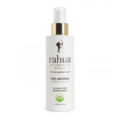 RAHUA VOLUMINOUS SPRAY <br> Versatile, soft-hold volumising hairspray that revitalises the scalp, 178ml