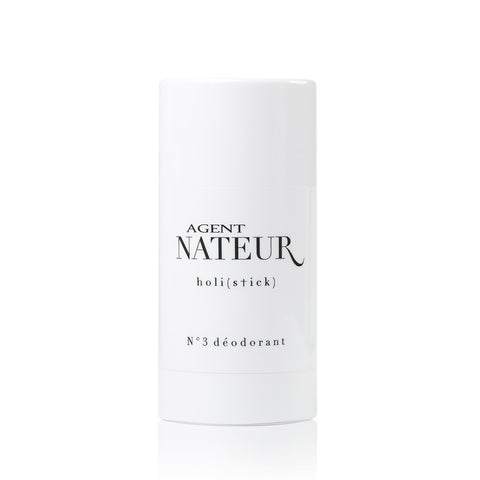 No.3 DEODORANT <br> Chic and effective natural deodorant stick with healthy, organic ingredients that you can EAT, 50ml