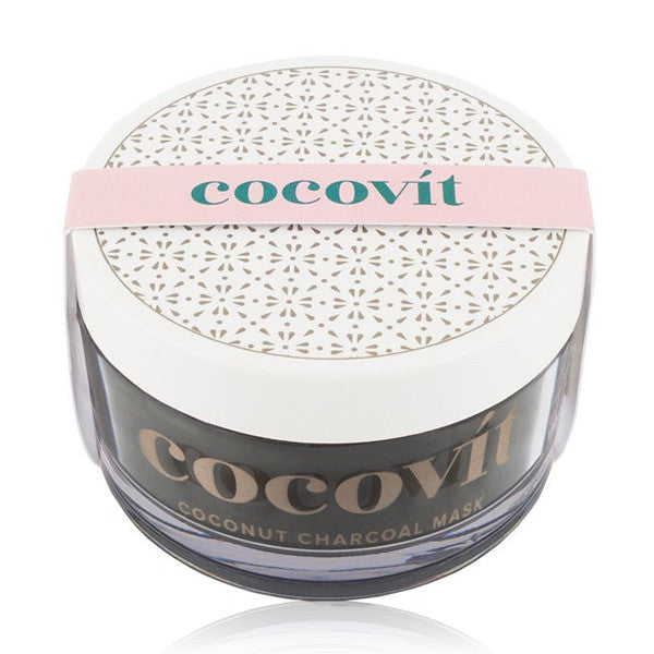 COCONUT CHARCOAL FACE MASK <br> Detoxifying and rejuvenating Ayurvedic mask, 100g