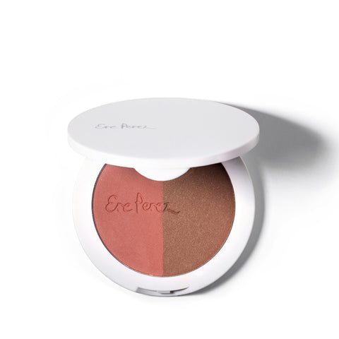 RICE <br> POWDER BLUSH & BRONZER DUO, 9g <br> [ 2 shades ]