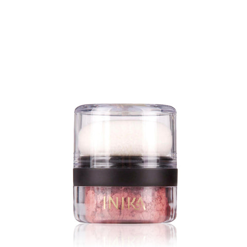 MINERAL BLUSHER PUFF POT <br> Warm, luscious colours delivered straight from nature, 3g