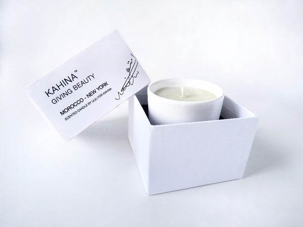 ULILI FOR KAHINA CANDLE Beautifully scented candle that evokes the rich and  romantic history of Morocco